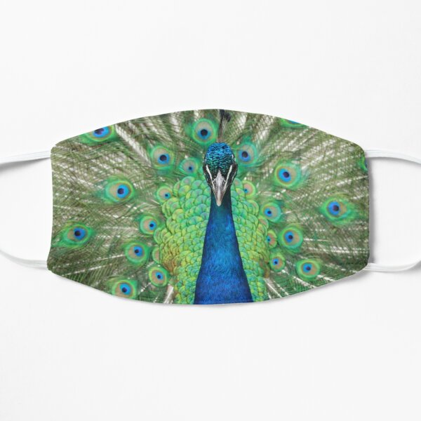 Proud as a Peacock Flat Mask
