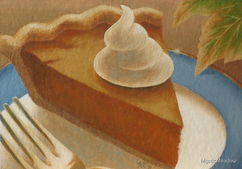 Food Luv--Pumpkin Pie by MysticMeadow