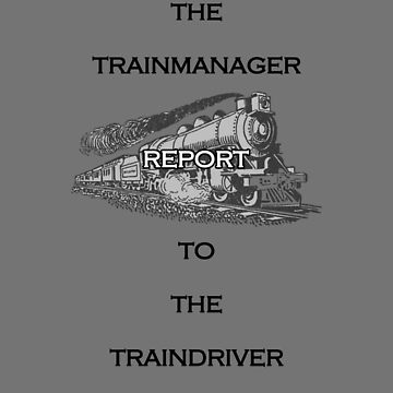 the Train Manager loves the Train Driver by JFSP