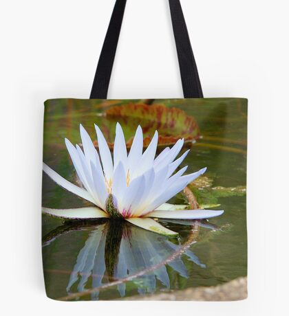 WATER LILLY REFLECTION Tote Bag