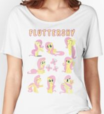 The Many Forms of Fluttershy Women's Relaxed Fit T-Shirt