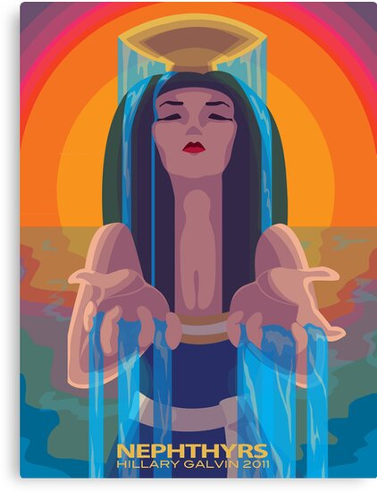River Goddess by MegaJett