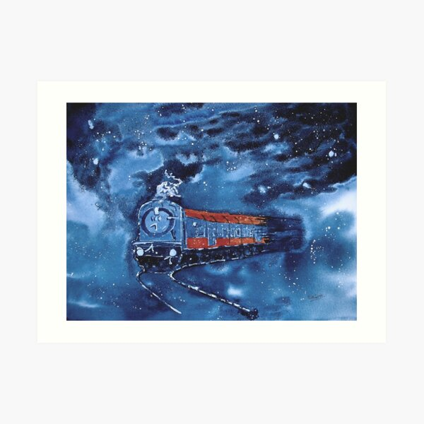 The Starlight Express Art Print
