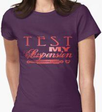 Test My Suspension - Pink T-Shirt