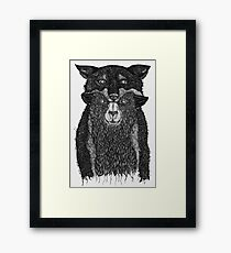 Sheep in Wolfs Clothing  Framed Print