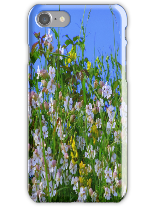 Summer Hedgerows iPhone Case by Fara
