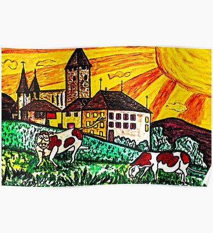 una bella notte al castello(A beautiful night at the Castle) Poster