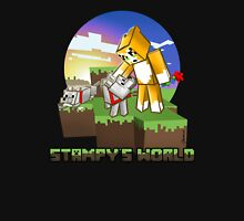 Mr Stampy cat and dogs at sunset Unisex T-Shirt