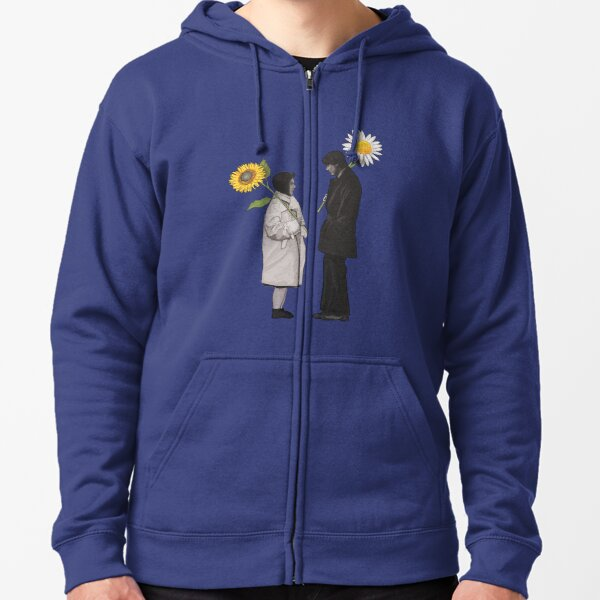 Harold and Maude / Daisy and Sunflower Zipped Hoodie