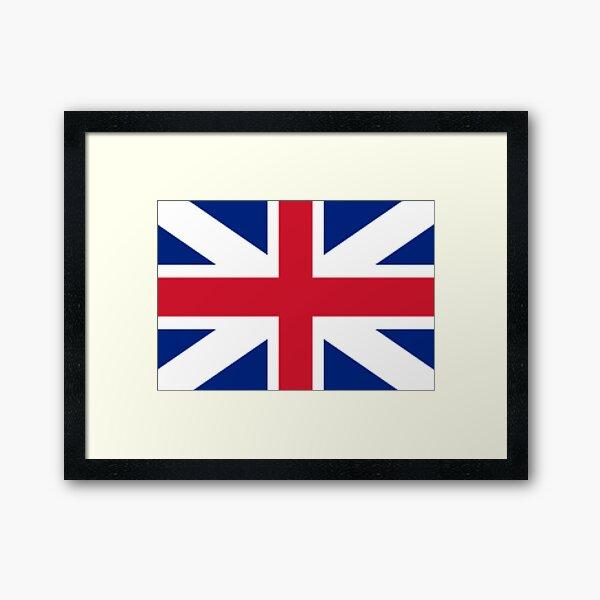 Great Britain Flag  Framed Art Print