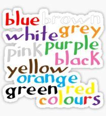 Geek colours Sticker