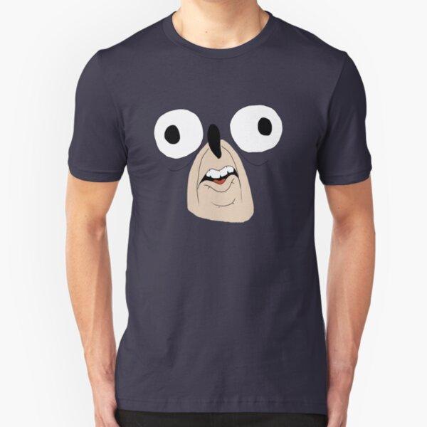 Sonic retarded face Slim Fit T-Shirt