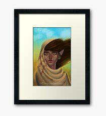 Desert Elf Framed Print