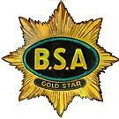 BSA GOLD STAR T SHIRT by JohnLowerson