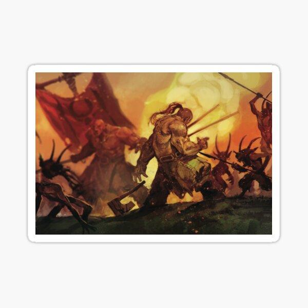 Fomors, Beastmen, and Orcs! Sticker
