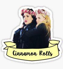 Swan queen Cinnamon Rolls Sticker