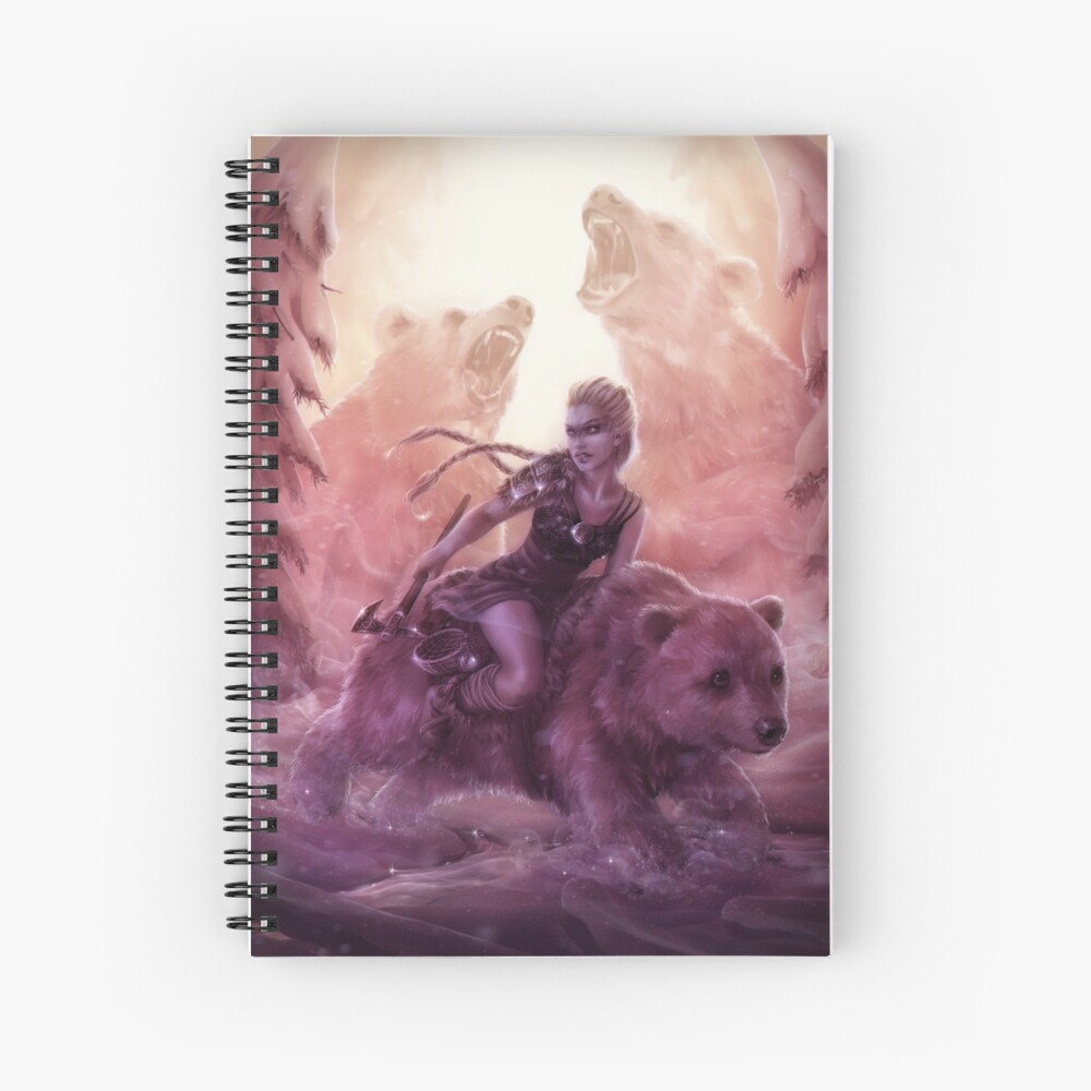 Goldilocks Spiral Notebook