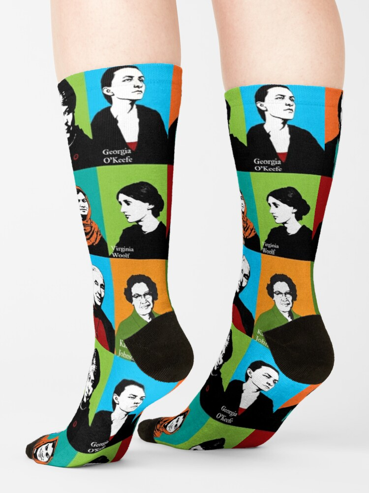 Alternate view of Feminist Icons Socks