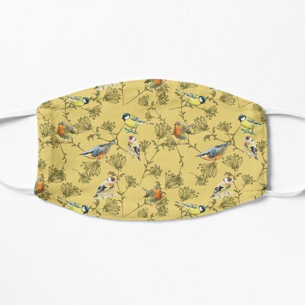 Copy of garden birds, spring Flat Mask