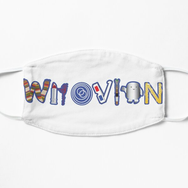 Whovian Flat Mask