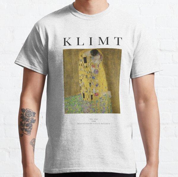 The Kiss - Gustav Klimt - Exhibition Poster Classic T-Shirt