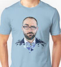 Vsauce Michael Stevens Low Poly prints T-Shirt