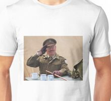 """You Stupid Boy"" (Captain Mannering - Dads Army) Unisex T-Shirt"