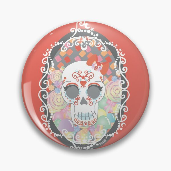 Candy Lady Cameo Badge