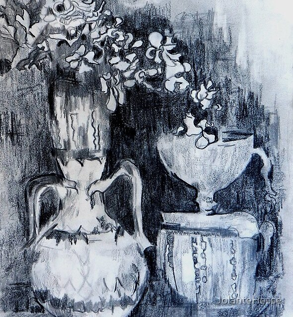 Still Life with Vases by JolanteHesse