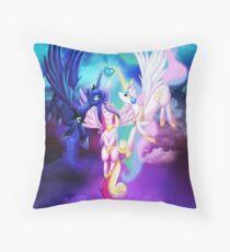 Ascension of a Princess Throw Pillow