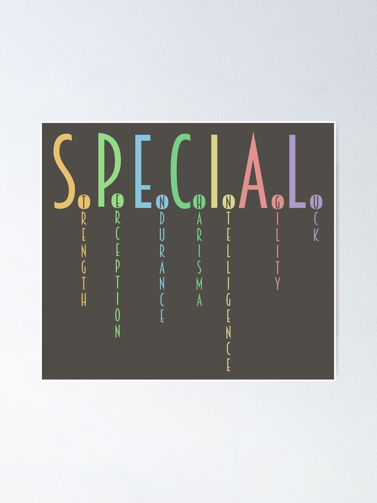 Alternate view of You're Special! Poster