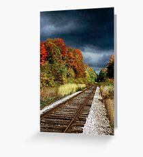 Ontario Autumn Greeting Card