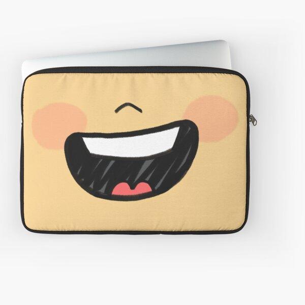 Big Smile Mask Laptop Sleeve
