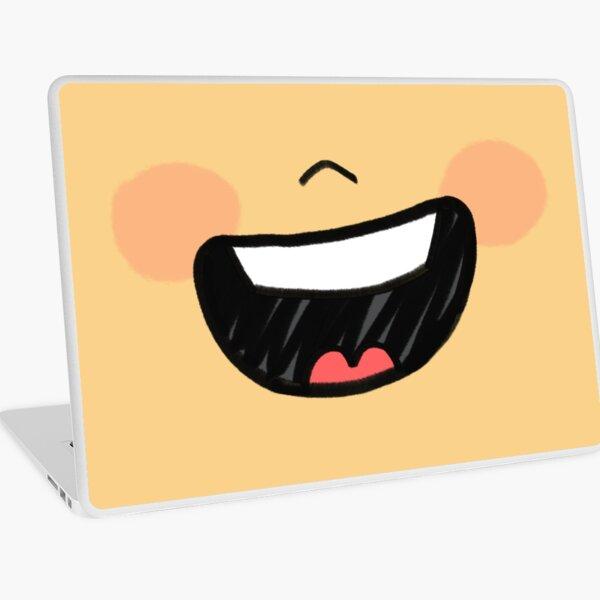 Big Smile Mask Laptop Skin