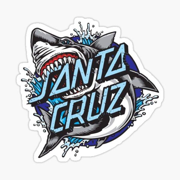 Santa cruz blue sticker Sticker