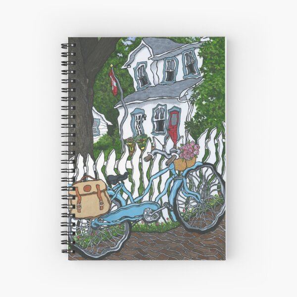 Thornhill Bicycle Spiral Notebook