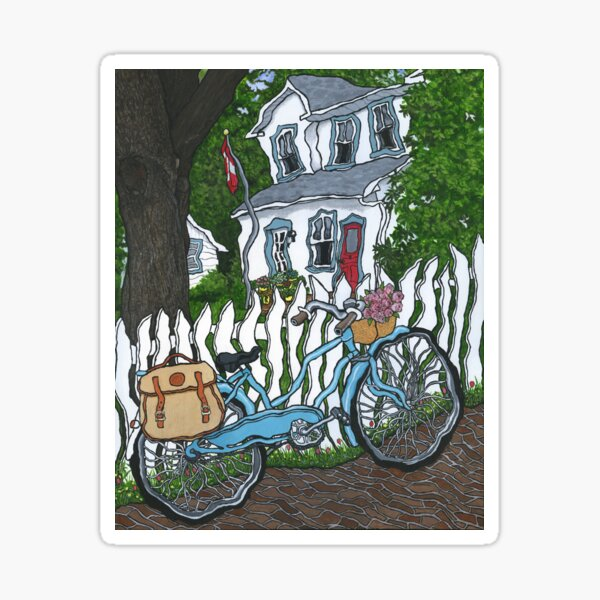 Thornhill Bicycle Sticker