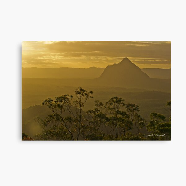 Beerwah, Glass House Mountains, Queensland Canvas Print