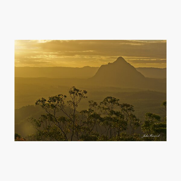 Beerwah, Glass House Mountains, Queensland Photographic Print