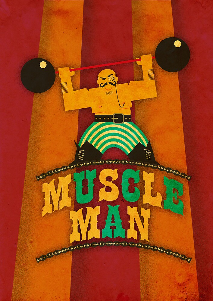 Muscle Man by Marco Recuero