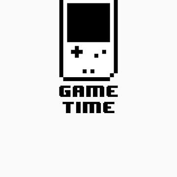 Game Time - 8-bit Style by techwiz