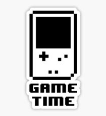 Game Time - 8-bit Style Sticker
