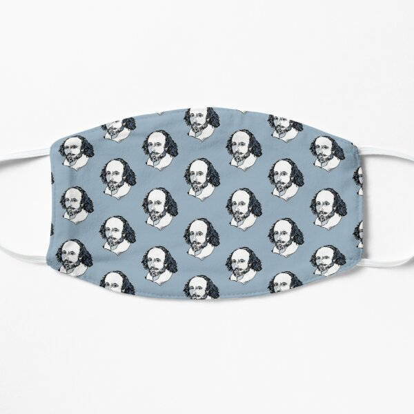 William Shakespeare : The Bard Flat Mask