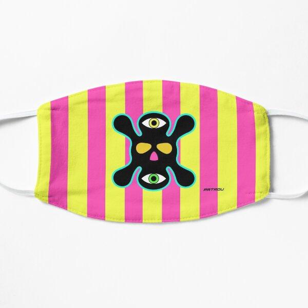 X Face - Black / Yellow Flat Mask
