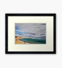 Beachport Fishing Framed Print