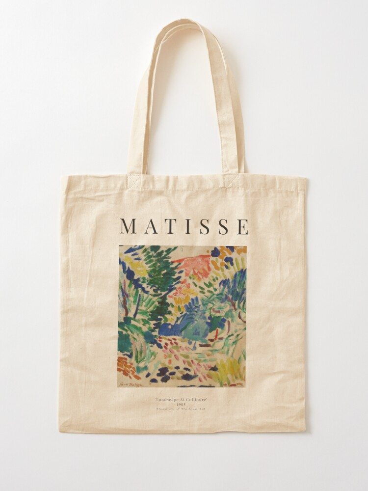 Alternate view of Henri Matisse - Landscape At Collioure - Exhibition Poster Tote Bag