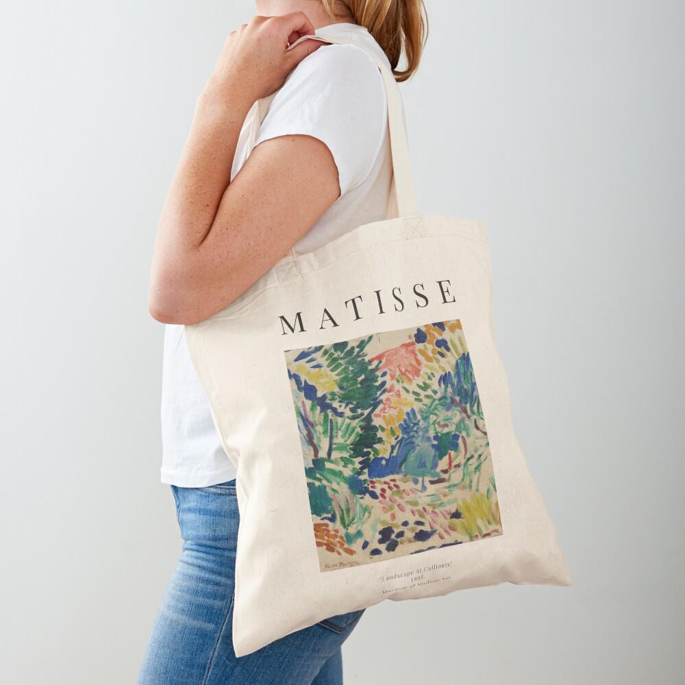 Henri Matisse - Landscape At Collioure - Exhibition Poster Tote Bag