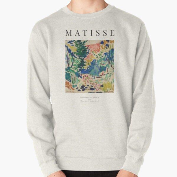 Henri Matisse - Landscape At Collioure - Exhibition Poster Pullover Sweatshirt