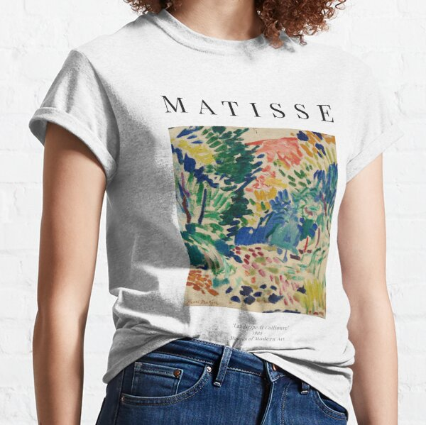 Henri Matisse - Landscape At Collioure - Exhibition Poster Classic T-Shirt