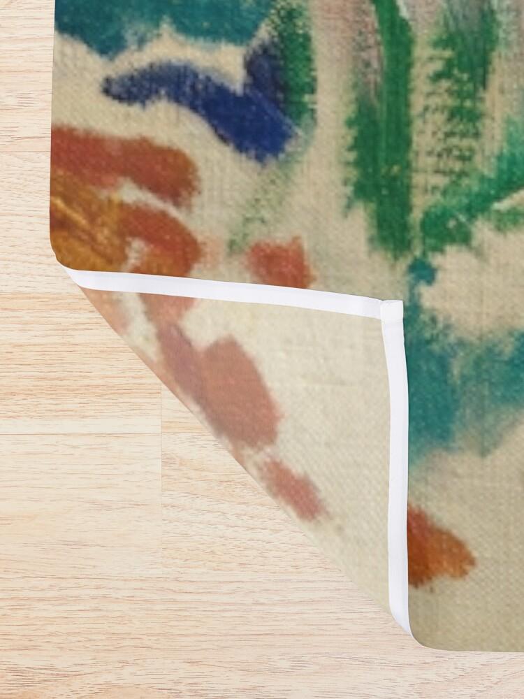Alternate view of Henri Matisse - Landscape At Collioure - Exhibition Poster Shower Curtain
